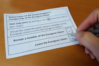 EU ballot paper